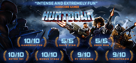 HUNTDOWN Cover Image