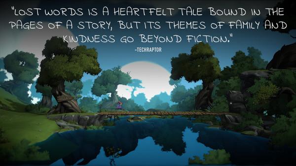 Скриншот №8 к Lost Words Beyond the Page