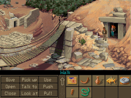 Indiana Jones and the Fate of Atlantis: The Graphic Adventure скриншот