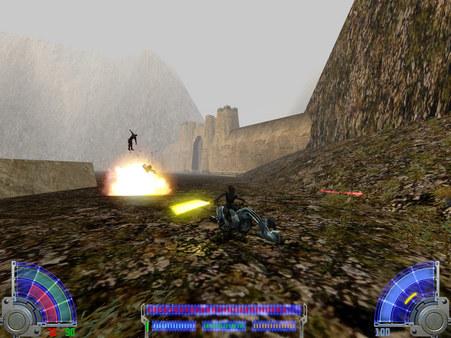 STAR WARS Jedi Knight - Jedi Academy скриншот