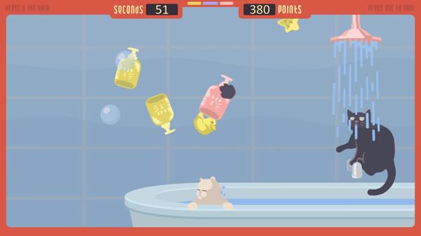 Скриншот №2 к The Cat Games