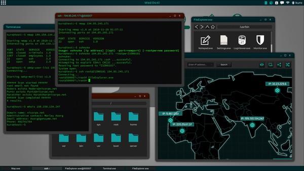 Скриншот №2 к Grey Hack