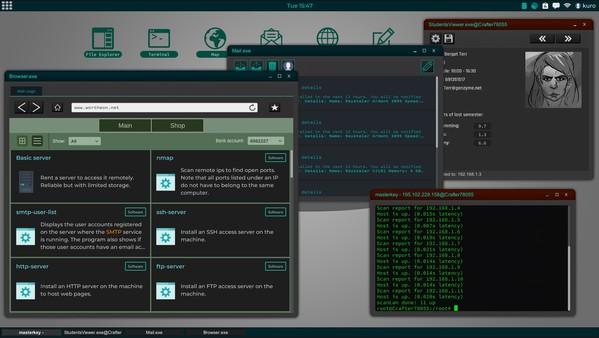 Скриншот №7 к Grey Hack