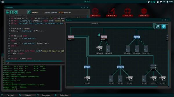 Скриншот №5 к Grey Hack