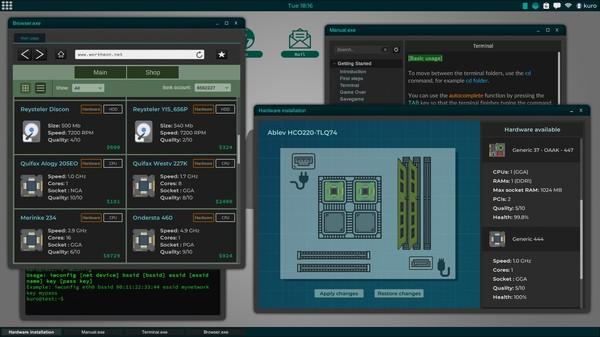 Скриншот №3 к Grey Hack