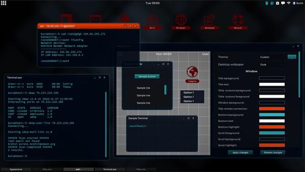 Скриншот №6 к Grey Hack