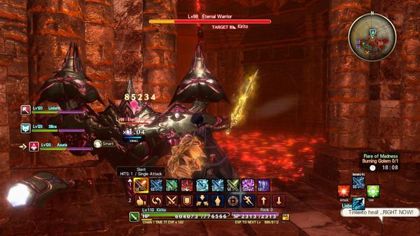 Скриншот №3 к Sword Art Online Hollow Realization Deluxe Edition