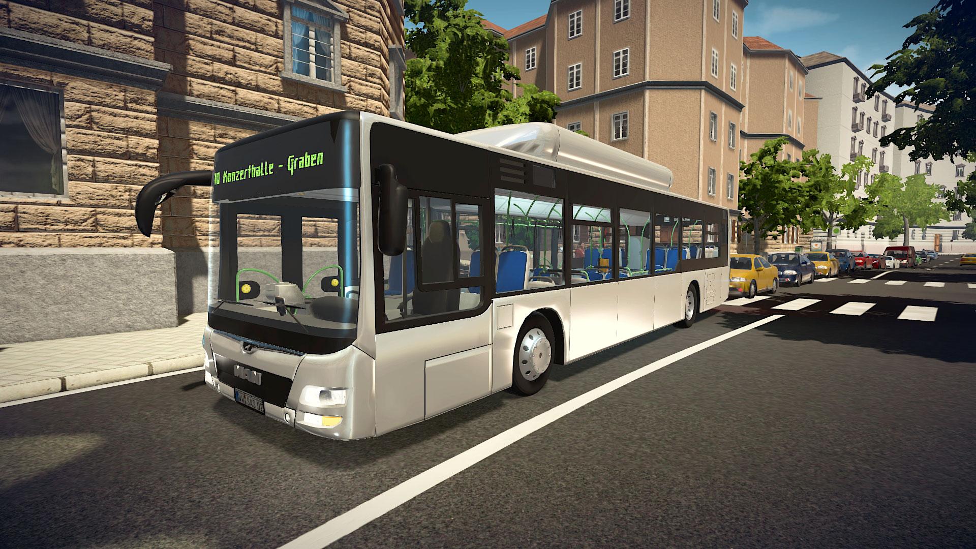 Bus Simulator 16 - MAN Lion's City CNG Pack