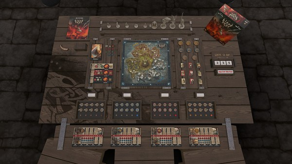 Скриншот №3 к Tabletop Simulator - Blood Rage