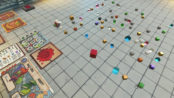 Скриншот №4 к Tabletop Simulator - Dungeon Drop