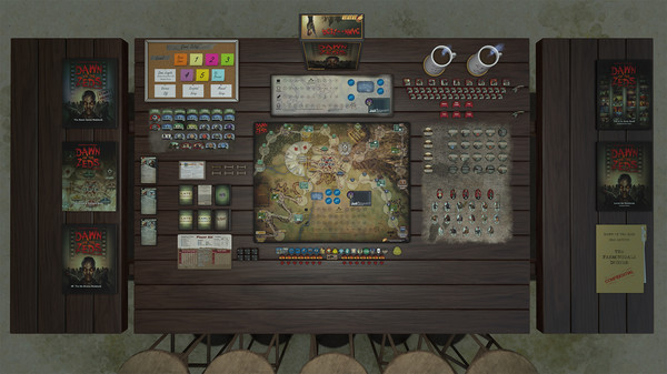 Скриншот №2 к Tabletop Simulator - Dawn of the Zeds