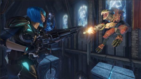 Скриншот №1 к Quake Champions