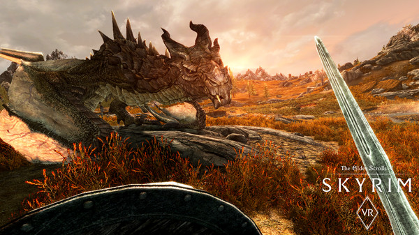 Скриншот №2 к The Elder Scrolls V Skyrim VR