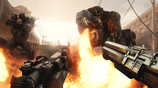 Скриншот №2 к Wolfenstein II The New Colossus
