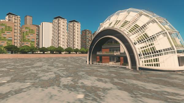 Скриншот №4 к Cities Skylines - Green Cities