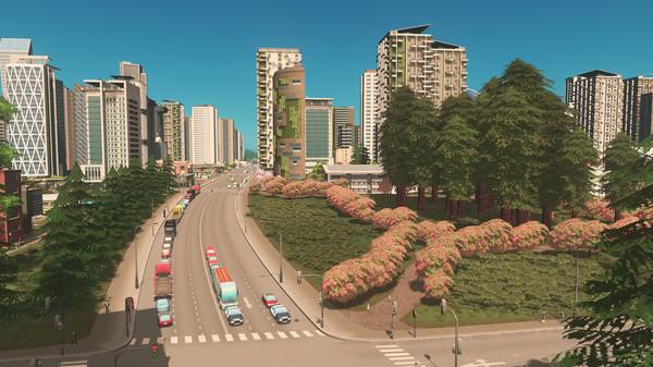 Скриншот №2 к Cities Skylines - Green Cities