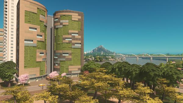 Скриншот №1 к Cities Skylines - Green Cities