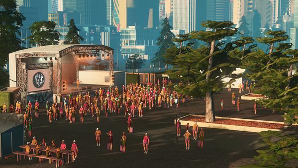 Скриншот №5 к Cities Skylines - Concerts