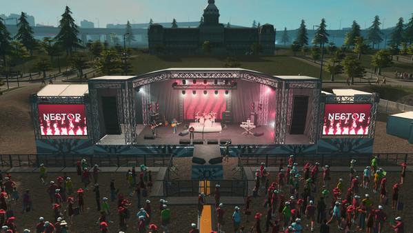 Скриншот №3 к Cities Skylines - Concerts