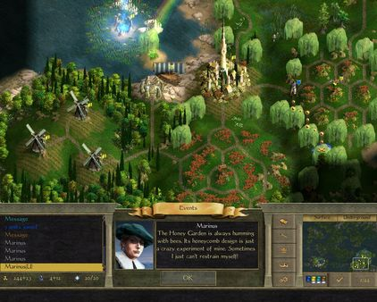 Age of Wonders II: The Wizard's Throne скриншот