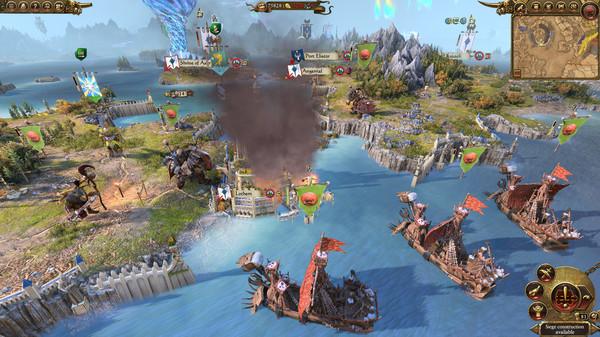 Скриншот №5 к Total War WARHAMMER II - Mortal Empires