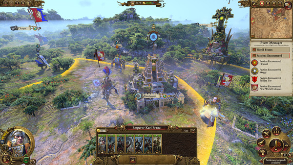 Скриншот №3 к Total War WARHAMMER II - Mortal Empires