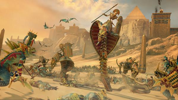 Скриншот №10 к Total War WARHAMMER II - Rise of the Tomb Kings