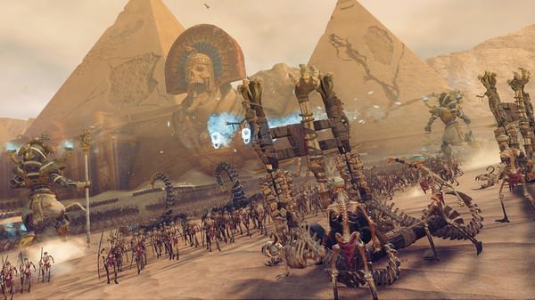 Скриншот №2 к Total War WARHAMMER II - Rise of the Tomb Kings