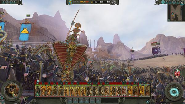 Скриншот №4 к Total War WARHAMMER II - Rise of the Tomb Kings