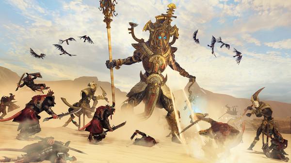 Скриншот №1 к Total War WARHAMMER II - Rise of the Tomb Kings