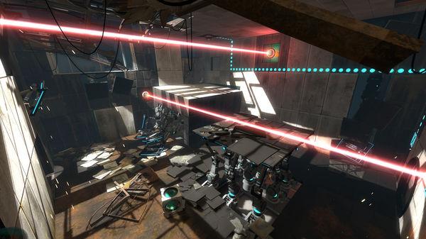 Screenshot of Portal 2