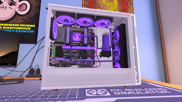 PC Building Simulator Screenshot