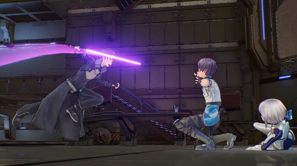 Скриншот №3 к Sword Art Online Fatal Bullet
