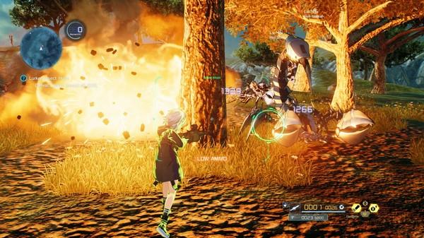Скриншот №1 к Sword Art Online Fatal Bullet