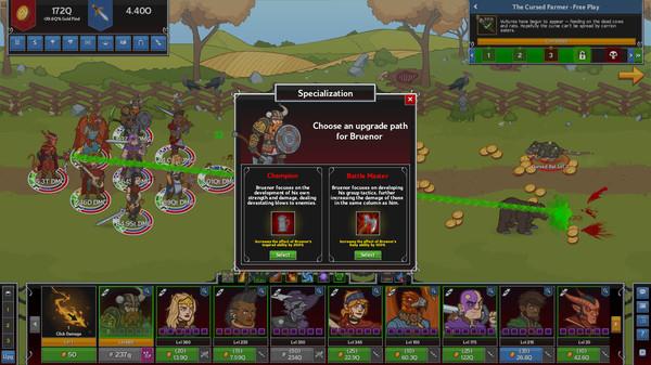 Скриншот №3 к Idle Champions of the Forgotten Realms