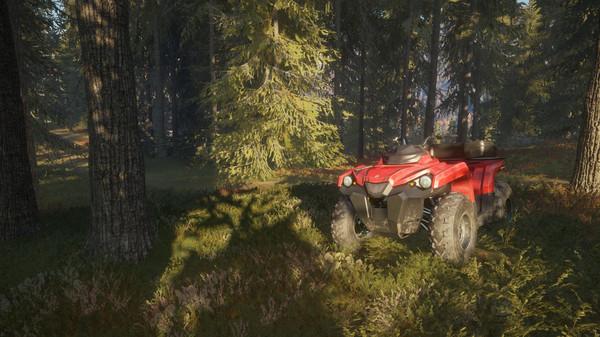 Скриншот №2 к theHunter Call of the Wild™ - ATV SABER 4X4