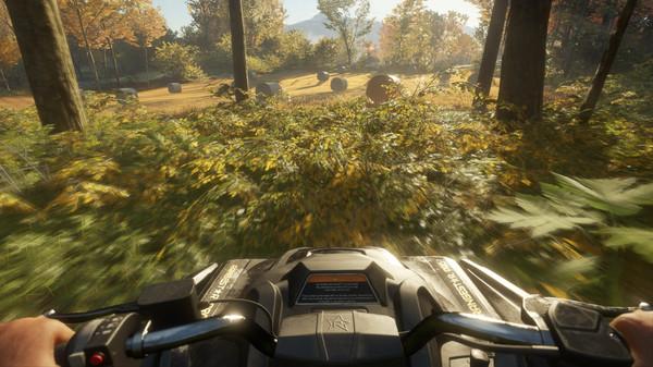 Скриншот №1 к theHunter Call of the Wild™ - ATV SABER 4X4