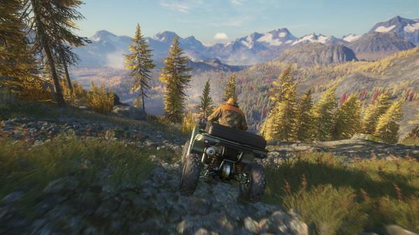 Скриншот №3 к theHunter Call of the Wild™ - ATV SABER 4X4