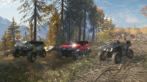 Скриншот №4 к theHunter Call of the Wild™ - ATV SABER 4X4
