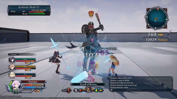 Скриншот №16 к Cyberdimension Neptunia 4 Goddesses Online