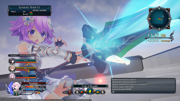 Скриншот №8 к Cyberdimension Neptunia 4 Goddesses Online