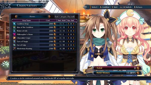 Скриншот №7 к Cyberdimension Neptunia 4 Goddesses Online