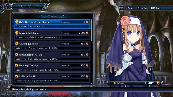 Скриншот №5 к Cyberdimension Neptunia 4 Goddesses Online