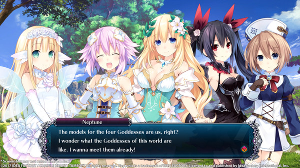 Скриншот №3 к Cyberdimension Neptunia 4 Goddesses Online