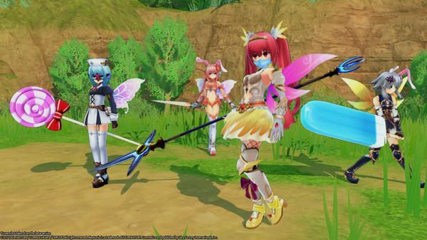 Скриншот №19 к Cyberdimension Neptunia 4 Goddesses Online