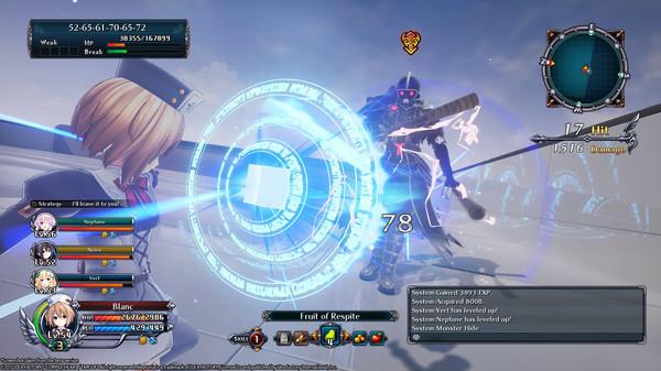 Скриншот №9 к Cyberdimension Neptunia 4 Goddesses Online