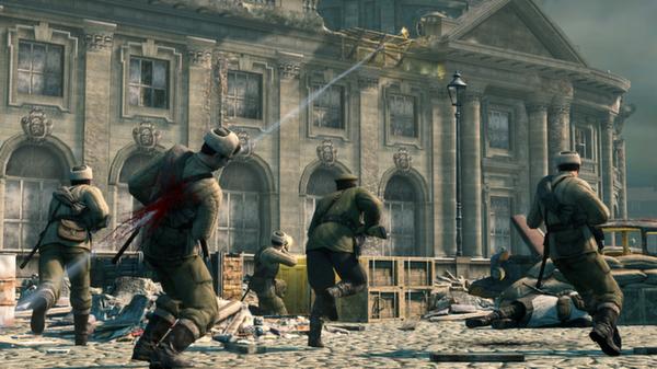 Sniper Elite V2 скриншот