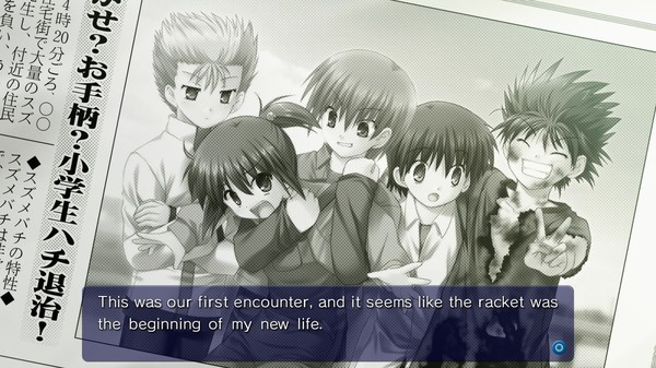 Screenshot of Little Busters! English Edition
