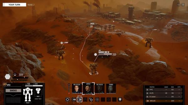 BATTLETECH скриншот