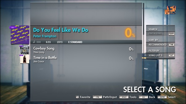 "Скриншот №5 к Rocksmith® 2014 Edition – Remastered – Peter Frampton - ""Do You Feel Like We Do"""